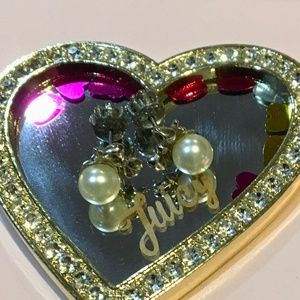 Juicy Couture vintage earrings petite bow & Pearl